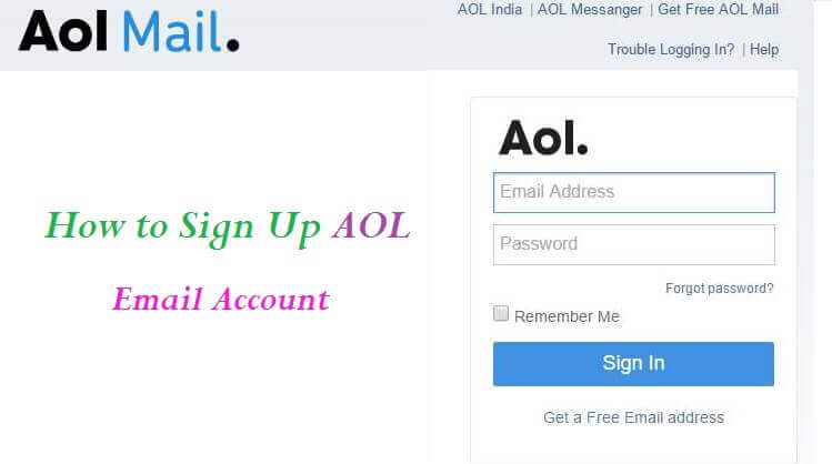Aol Mail Sign Up Create A New Aol Email Account