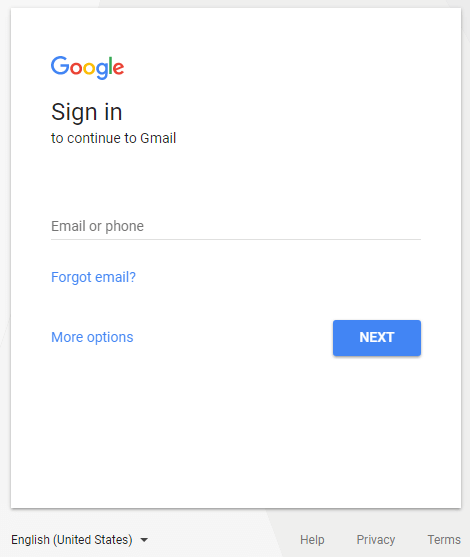 How to Login Gmail