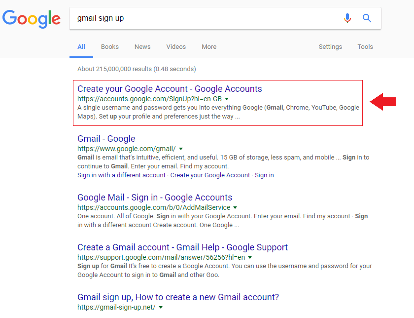 Google mail login register  6 Easy Steps to Setup A [Google] Account