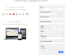 How to Sign Up Gmail Account