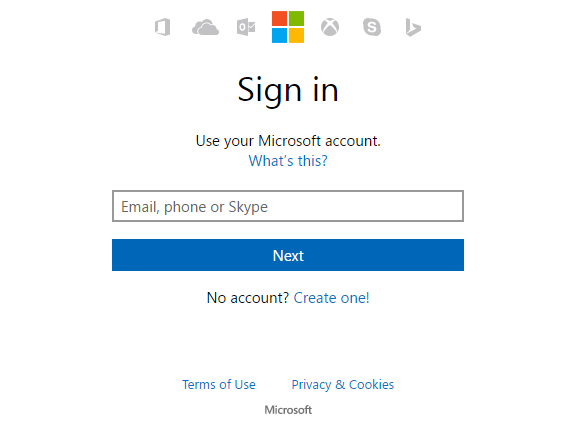 Login Outlook Mail Account