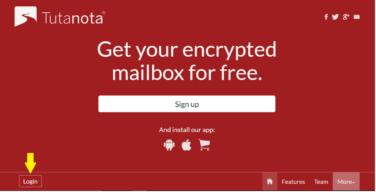 How to Sign Up Tutanota Mail Account