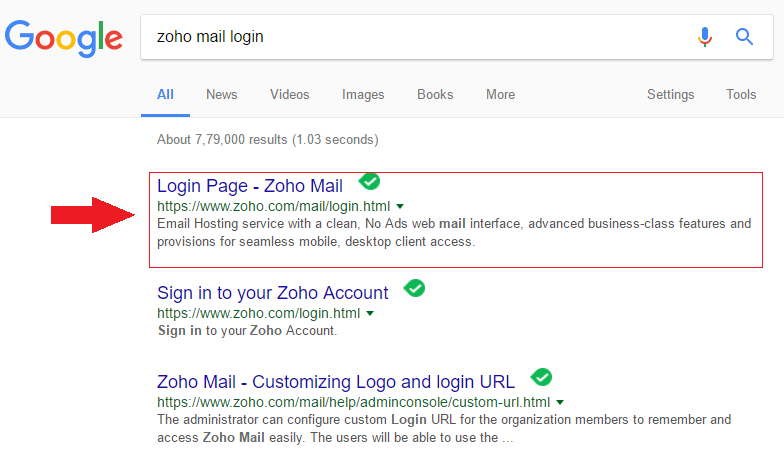 How to Sign In Zoho Mail Account