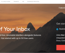 How to Sign Up Zoho Email Account