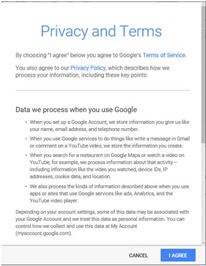 Privacy and Terms