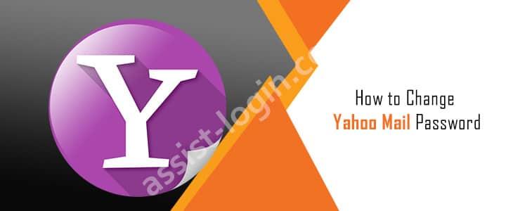 Change Yahoo Mail Password