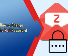 How to Change Zoho Mail Password?