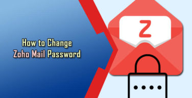 Change Zoho Mail Password