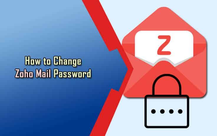 Change Zoho Mail Password