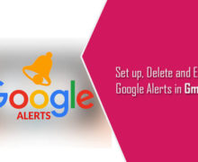 Set up, Delete and Edit Google Alerts in Gmail