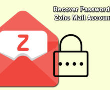 Ways to Recover Password In Zoho Mail Account?