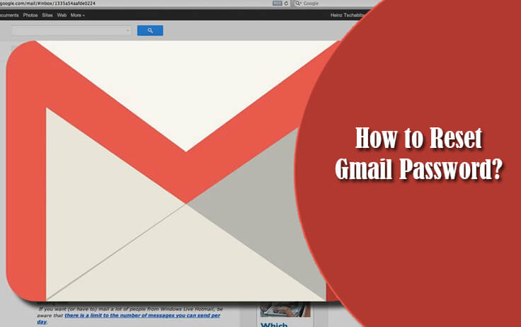 how to reset a gmail