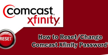 change-comcast-email-password