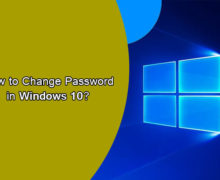 How to Change Your Password in Windows 10?