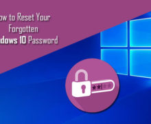 How to Reset Your Forgotten Password in Windows 10?