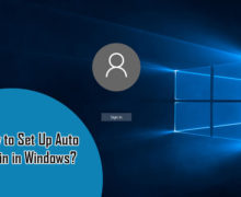 How to Set Up Auto Login in Windows7?