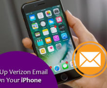 How to Set Up Verizon Email On Your iPhone?