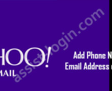 How to Add Phone Number and Email Address on Yahoo Mail?