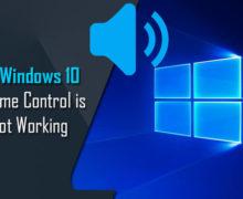 Fix Windows 10 Volume Control is Not Working