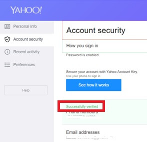 phone-number-successfully-add-on-yahoo-mail