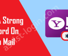 How to Create a Strong Password in Yahoo Mail?