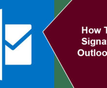 How To Add Signature in Outlook 2016?