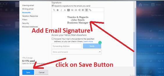 add-yahoo-email-signature