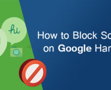 How to Block Someone on Google Hangouts?