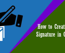 How to Create and Use a Signature in Outlook 2013?