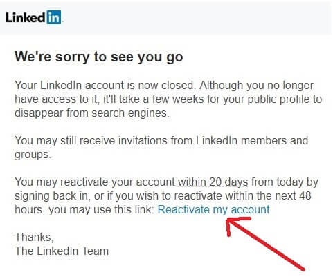 reactivate-LinkedIn-account