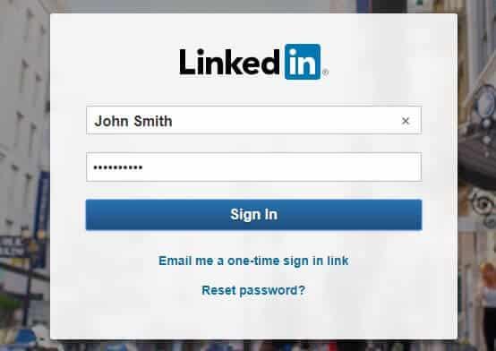 sign-in-LinkedIn-account