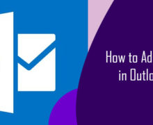 How to Add Signature in Outlook 2010?