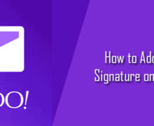 How to Create an Email Signature in Yahoo Mail?