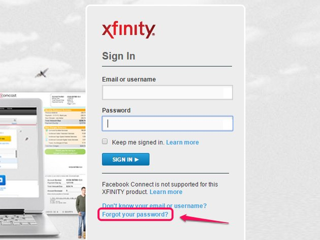 forgot-comcast-password