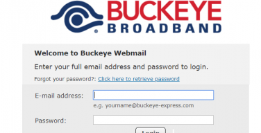 Buckeye-Express-Email-Login-Page