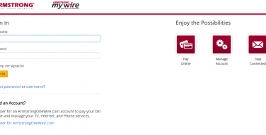 armstrong-mywire-zoominternet-login-page