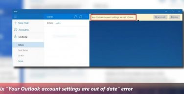 outlook-account-settings-are-out-of-date-error