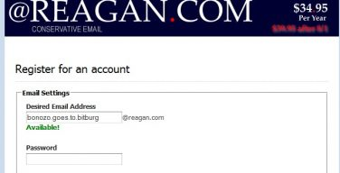 reagan-email-account
