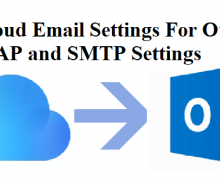 iCloud Email Settings For Outlook – Follow The Right Steps