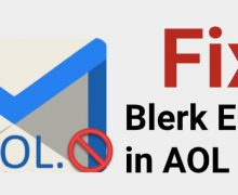How to Fix Blerk Error 1 in AOL Mail?