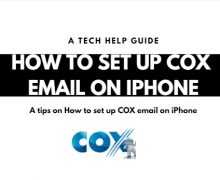 How to Set Up Cox Email On iPhone