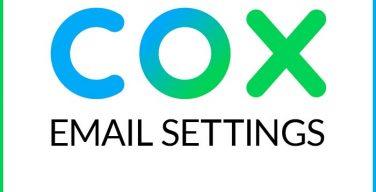 cox.net-email-server-settings