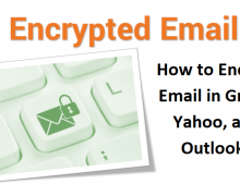 How to Encrypt Email in Gmail, Yahoo, and Outlook?