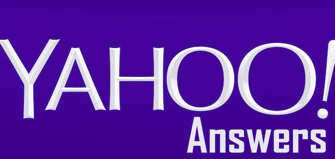 Login yahoo answers Yahoo Answers