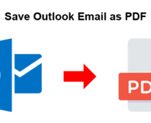 How to Save Outlook Email as PDF?
