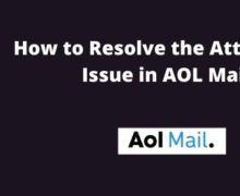 How To Resolve AOL Mail Attachment Problems?
