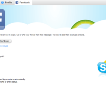 How To Sign Up For Skype Using Facebook?