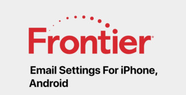 frontier-email-settings-on-iphone