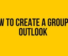 How to Create a Group in Outlook?