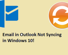 How To Fix Outlook Sync Issues On Windows 10?